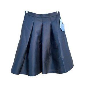 Eliza J Pleated A-Line Skirt